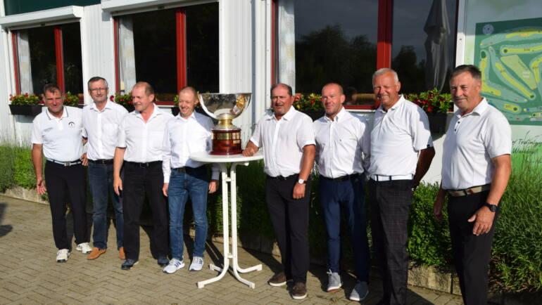 Unsere Herren AK50 sind Landesmeister in Sachen/Thüringen
